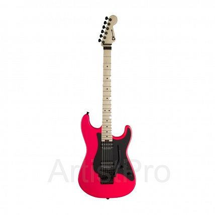 Charvel Pro-Mod So-Cal Style 1 HH FR Maple Fingerboard Neon Pink